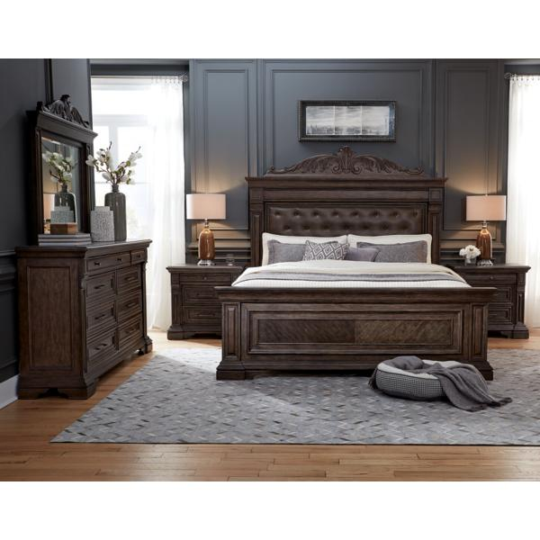 Bedford Heights King Panel Bed