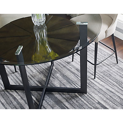 Olson Glass Counter Height Table