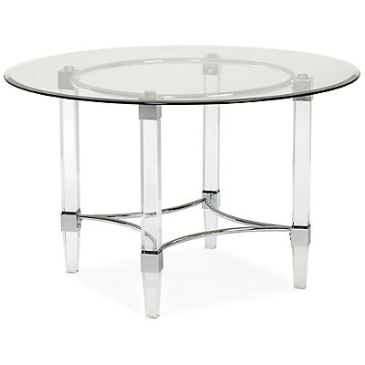 Aries 48inch Round Glass Table