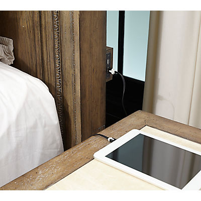 Belle Maison King Panel Bed