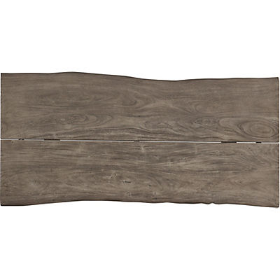 Organic Live Edge 79x38inch Rectangular Dining Table