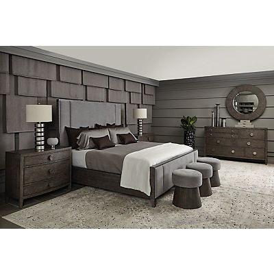 Linea Upholstered King Bed