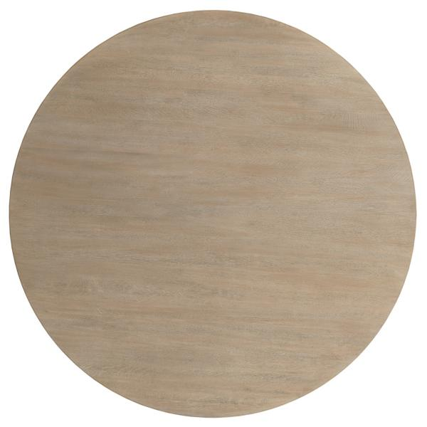 The Nook 54-inch Round Table - HEATHERED OAK