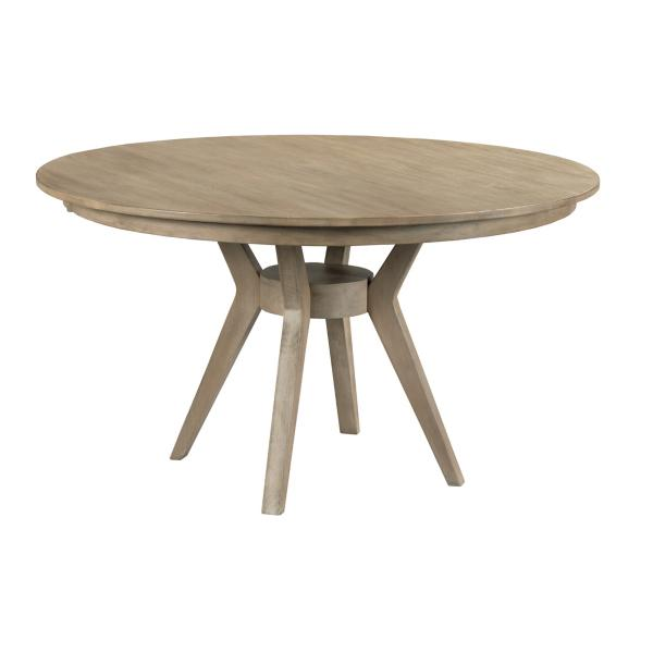 The Nook Heather 54in Round With Contemporary Base
