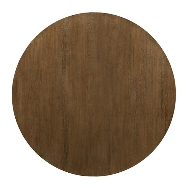The Nook Maple 44in Round With Contemporary Base