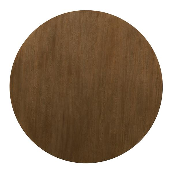 The Nook Maple 54in Round With Contemporary Base