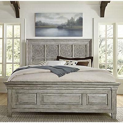 Heartland Decorative Queen Panel Bed
