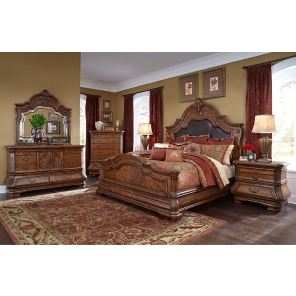Tuscano Melange Queen Mansion Bed