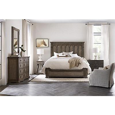 Woodlands Queen Panel Bed