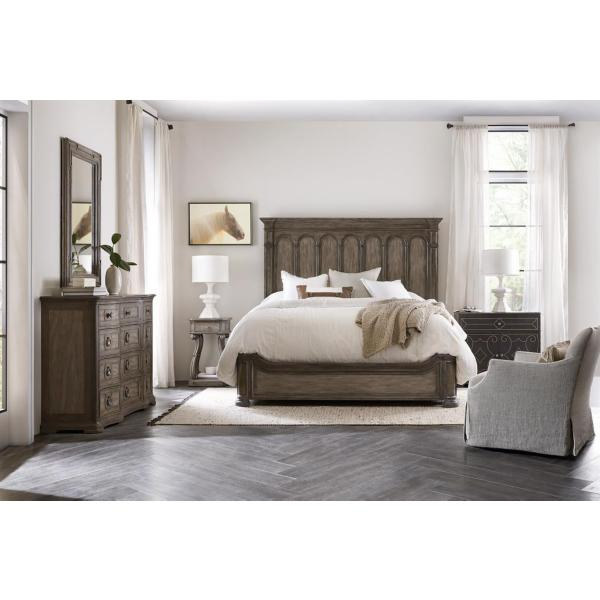 Woodlands Panel Bed