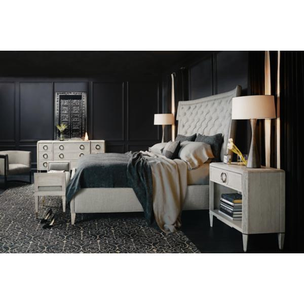 Domaine Blanc King Upholstered Bed
