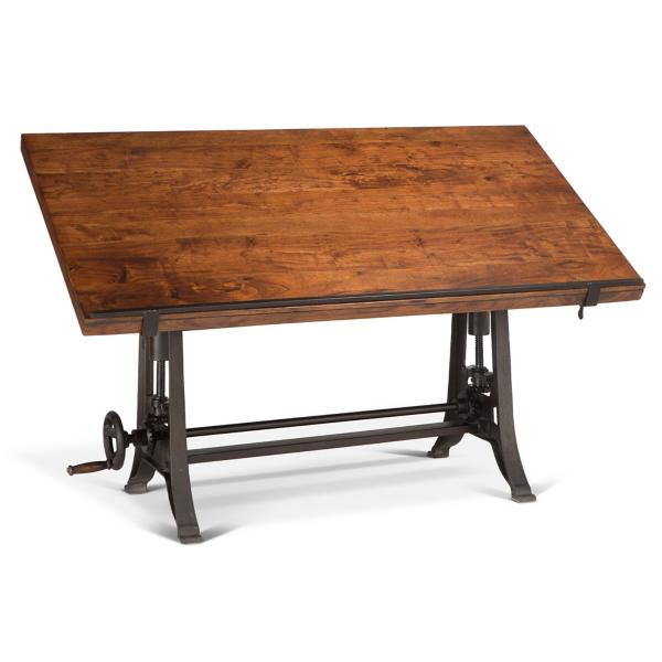 Old Mill Drafting Table - Walnut
