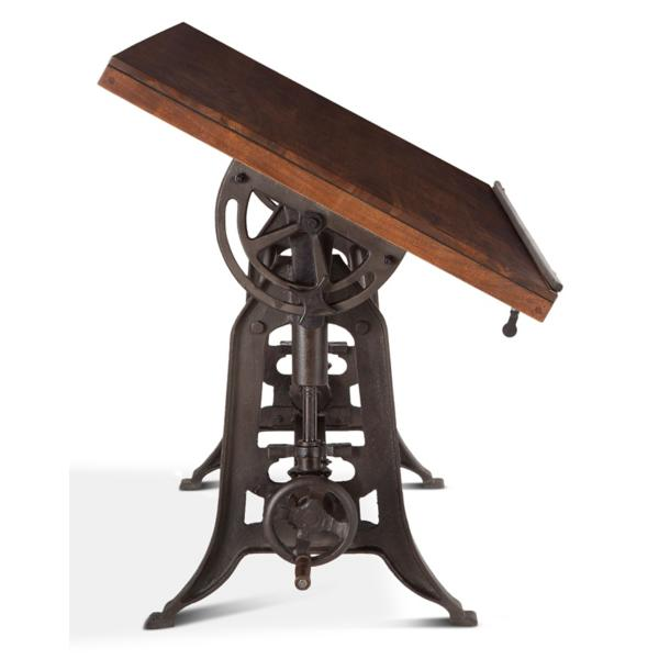 Old Mill Drafting Table - Walnut