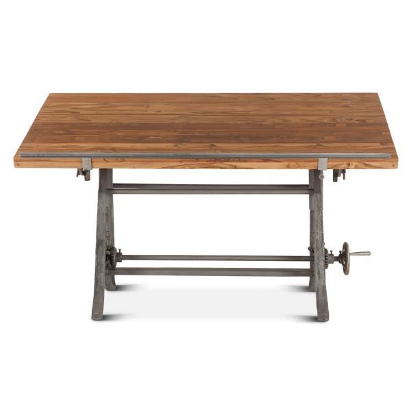 OLD Mill Drafting Table - Teak