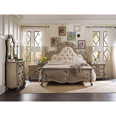 Chatelet Upholstered Queen Panel Bed