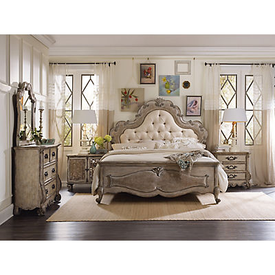 Chatelet King Upholstered Panel Bed