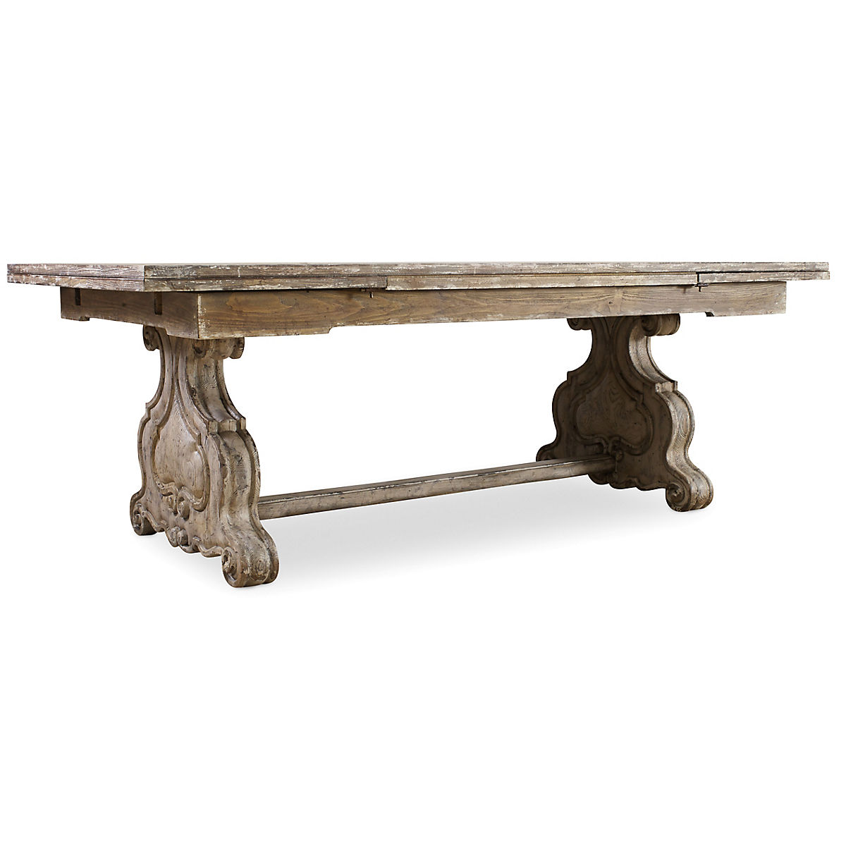 save off f6c57 15b9c Chatelet Refectory Rectangle Trestle Dining Table | Star Furniture