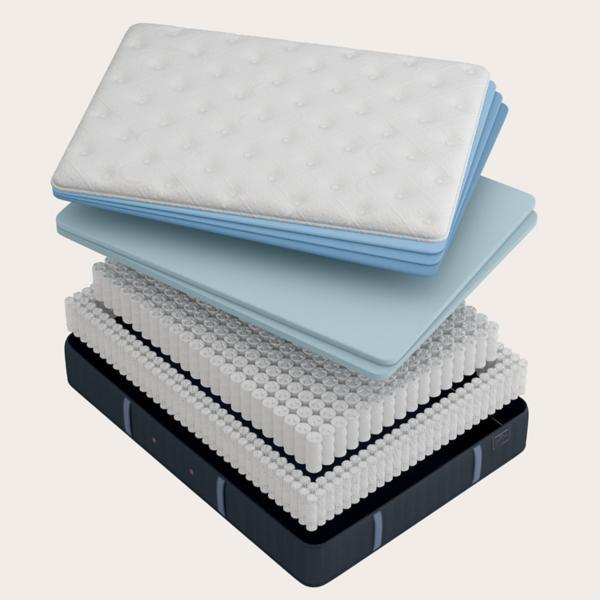 Stearns & Foster Cassatt Firm Mattress and Tempur-Ergo Extend Adjustable Base