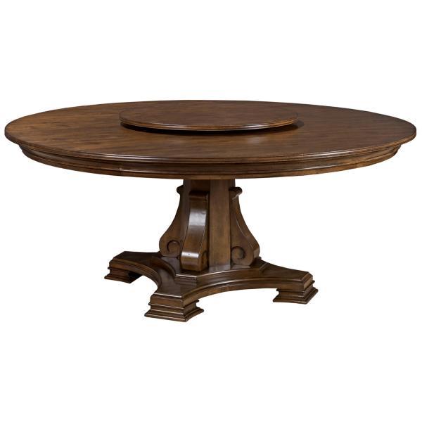 Portolone Stellia 72inch Round Pedestal Table