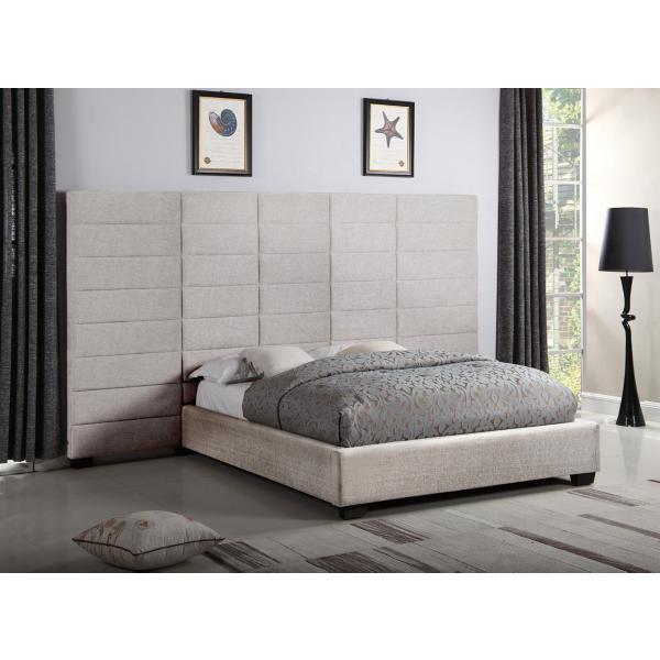Lena Dante Toffee Upholstered Wall Bed