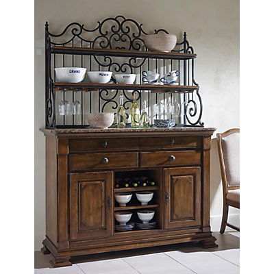 Portolone Sideboard and Baker's Rack