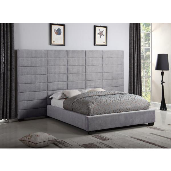 Lena Dante Licorice Queen Upholstered Wall Bed