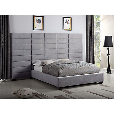 Lena Dante Licorice King Upholstered Wall Bed