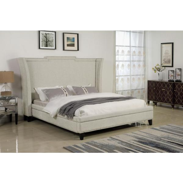 Leona King Upholstered Bed