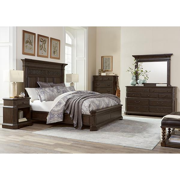 Foxhill Panel Bed