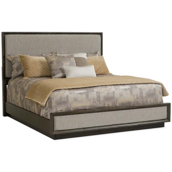 Palisades Upholstered Panel Queen Bed
