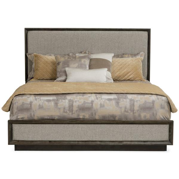 Palisades Upholstered Panel King Bed