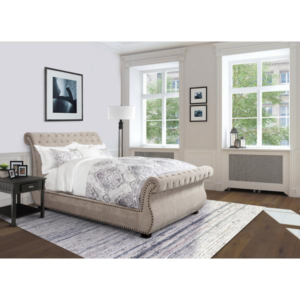 Claire Upholstered Bed