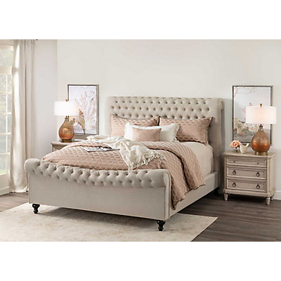 Jackie Upholstered Queen Bed