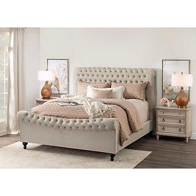 Jackie Upholstered King Bed