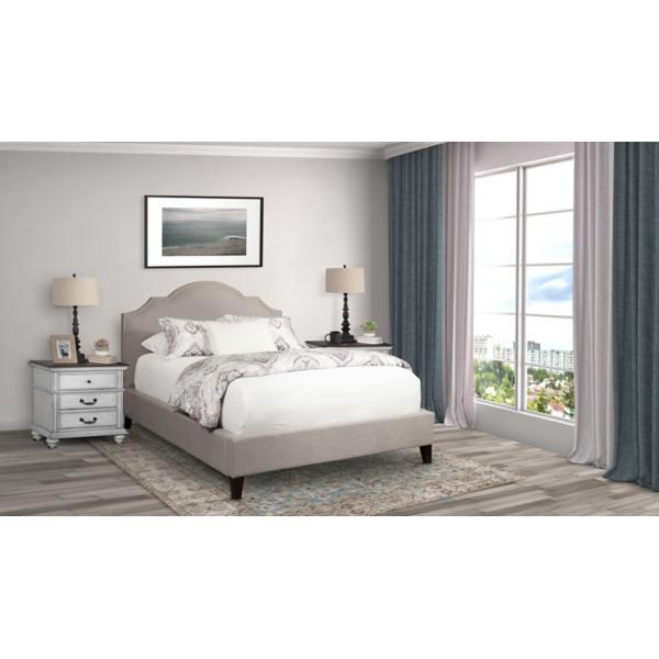 Charlotte Upholstered Falstaf King Bed