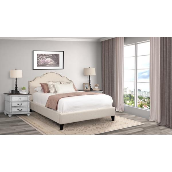Charlotte Upholstered Flour King Bed