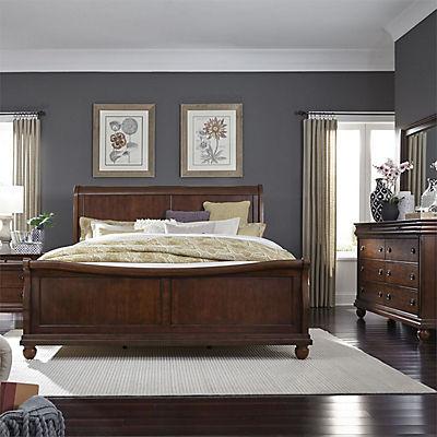 Richmond Queen Sleigh Bed