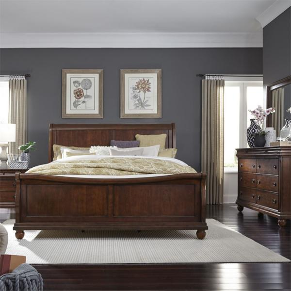 Richmond Sleigh Bed