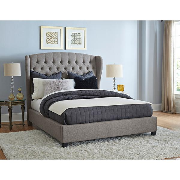 Bromley King Upholstered Bed