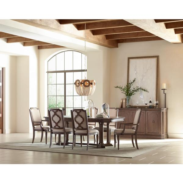Rachael Ray Refined Rustic Rectangular Dining Table
