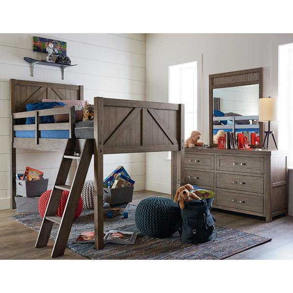 Bunkhouse Mid Loft Twin Bed