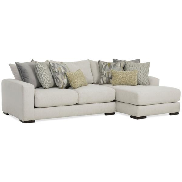 Charlie 2 Piece Sofa Chaise Sectional (RAF)