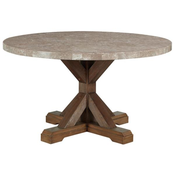 Vesper 54 Inch Round Dining Table Star Furniture