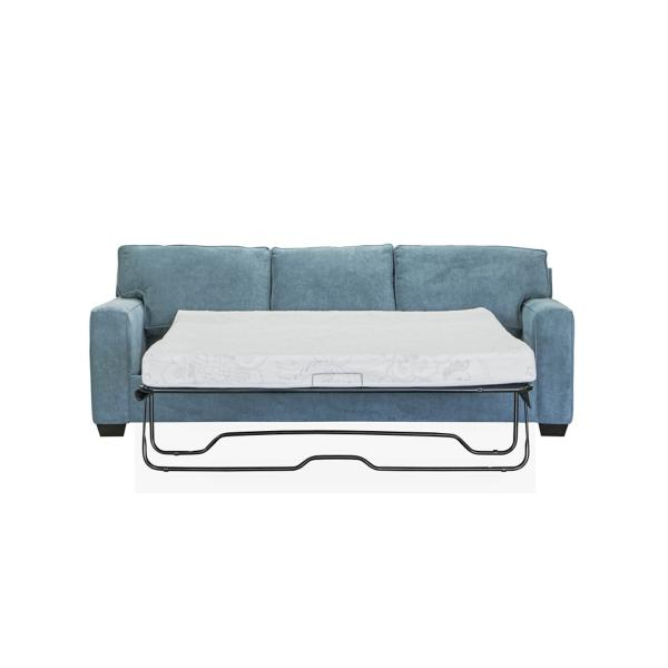 Monty 2-Piece Queen Sleeper Sofa with Floating Chaise - LAGOON