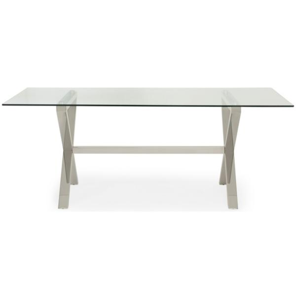 Luxe Glass Dining Table