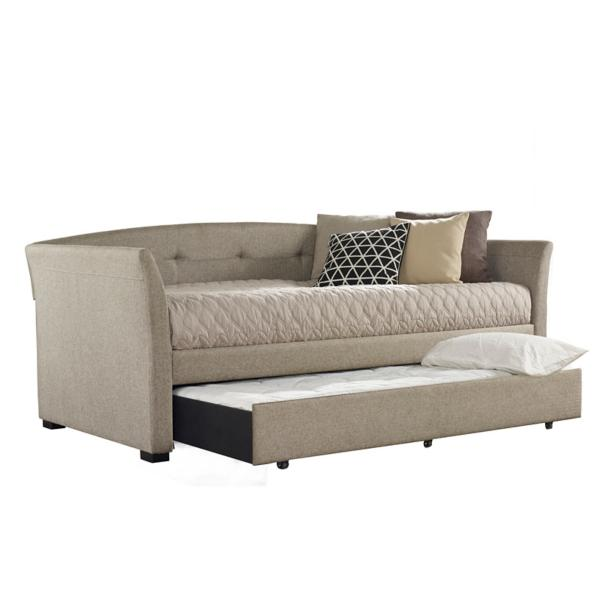 Morgan Upholstered Daybed - NATURAL