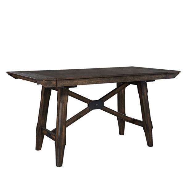 Double Bridge Counter Height Table