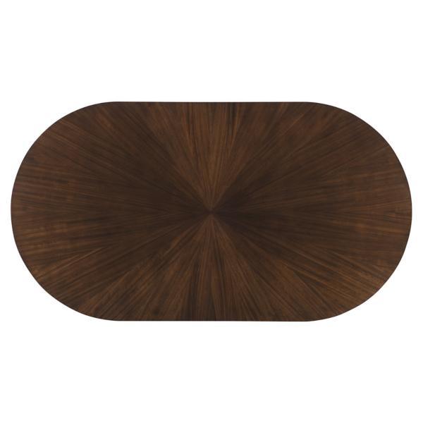 Paldao Oval Pedestal Table
