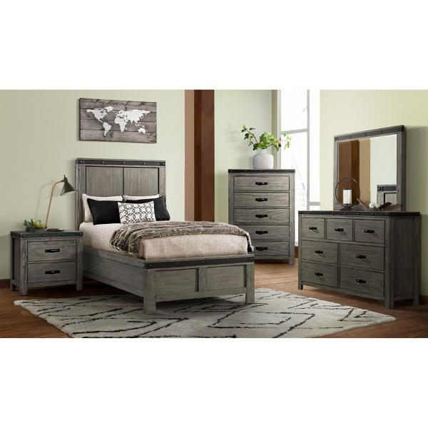 Wade Full Panel Bed