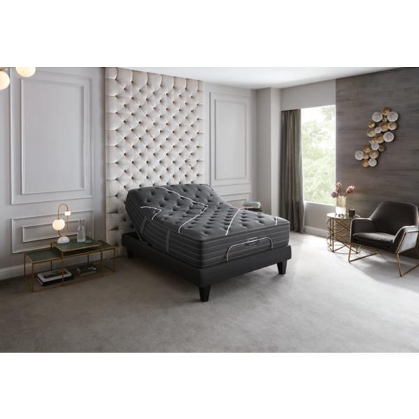 Beautyrest Black K Class Medium Full Mattress W/ Beautyrest Black Luxe Full Adjustable Base